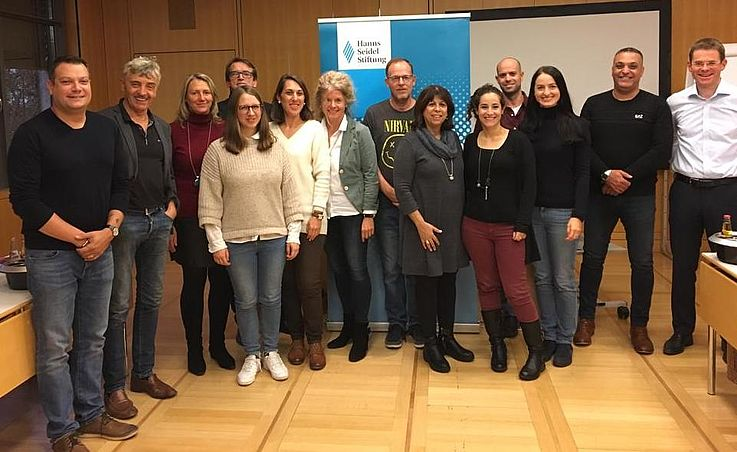 Teachers from Israel and Bavaria