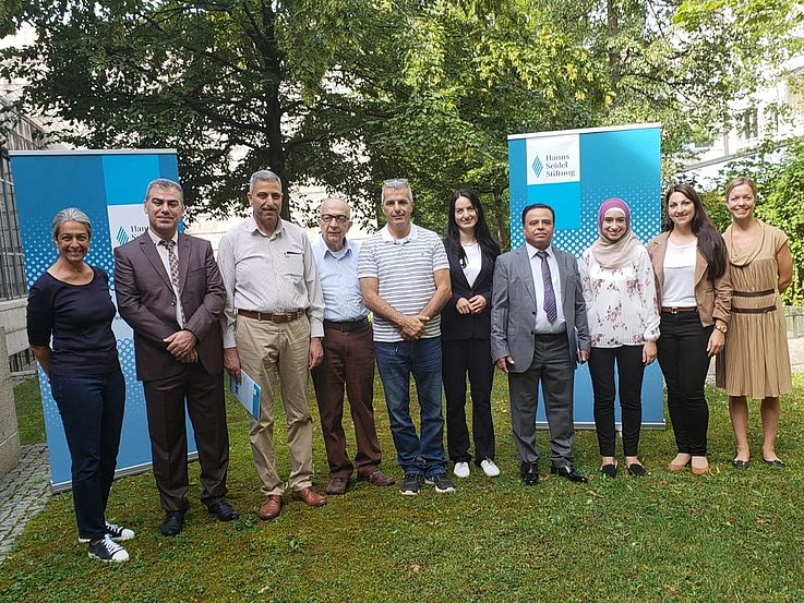 Palestinian Environmental Delegation to Bavaria