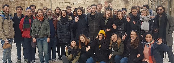 Exchange of Journalism Students in Israel and Bavaria
