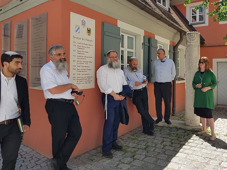 Delegation of Jewish-religious Scholars to Bavaria